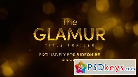 The Glamur Title Trailer 22531424 After Effects Template
