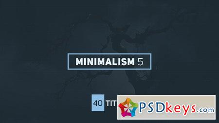 Minimalism 5 16135913 After Effects Template