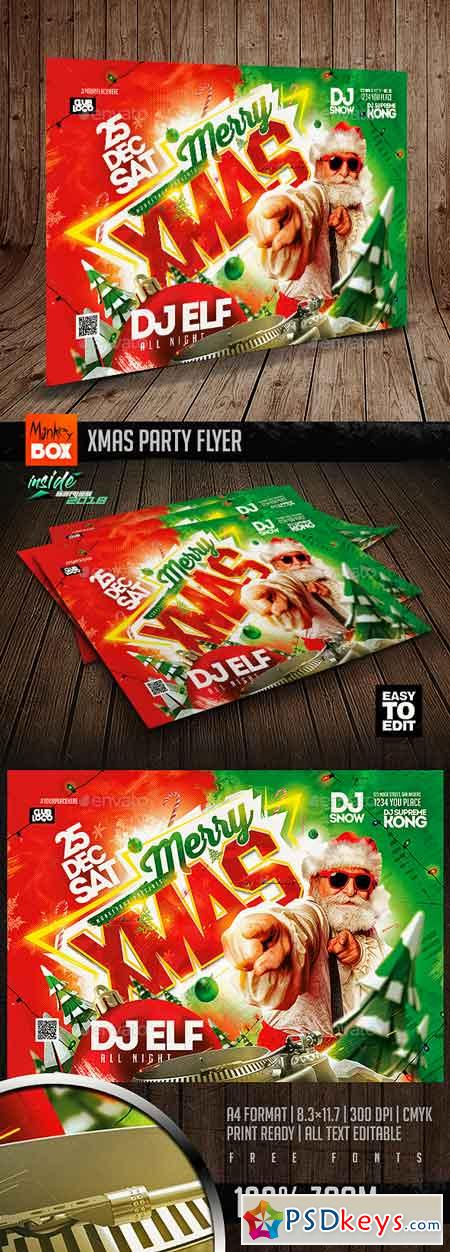 Xmas Party Flyer 22827036