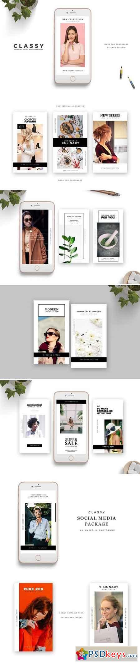 Animated Templates for Instagram 3150773