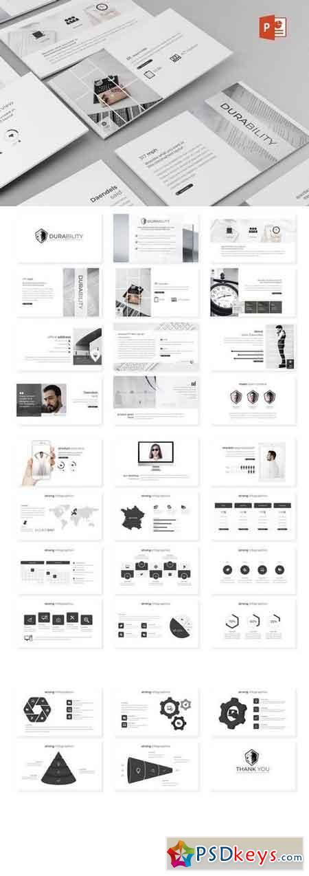 Durability - Powerpoint, Keynote, Google Sliders Templates