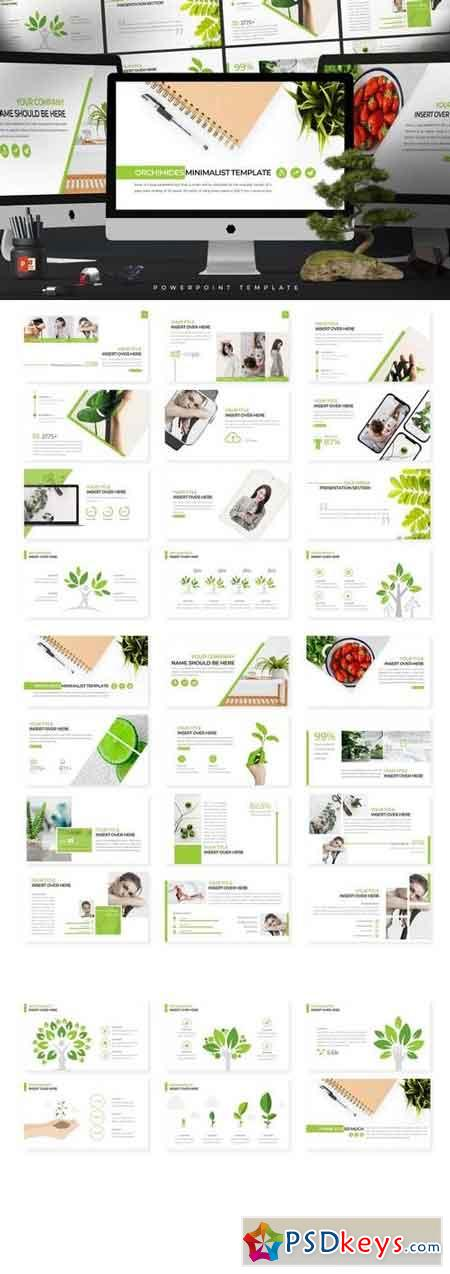 Orchimides - Powerpoint, Keynote, Google Sliders Templates