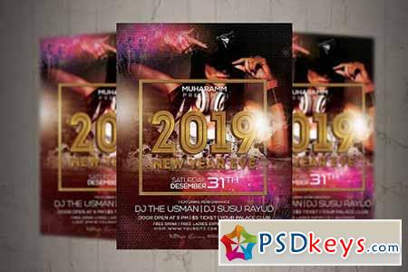 New Year Eve Flyer Poster 3163751