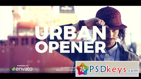 Urban Opener 21113550 After Effects Template