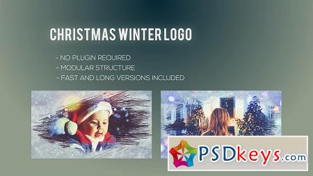 Christmas Winter Logo 22847584 After Effects Template