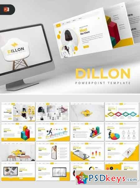 Dillon - Powerpoint, Keynote, Google Sliders Templates