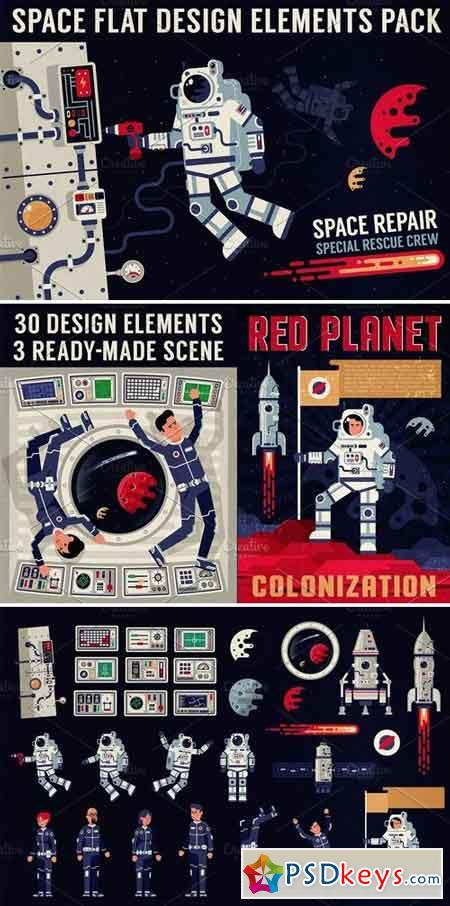 Space Design Elements Pack 3175456