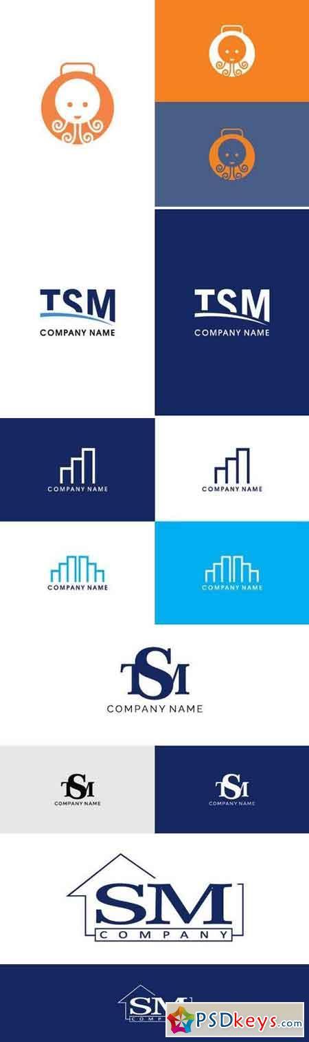 Stock Vector - Simple Logo 2