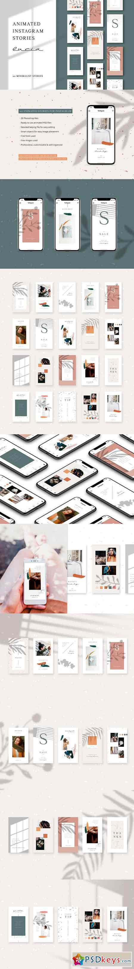 ANIMATED Instagram Stories – Lucia 3156073