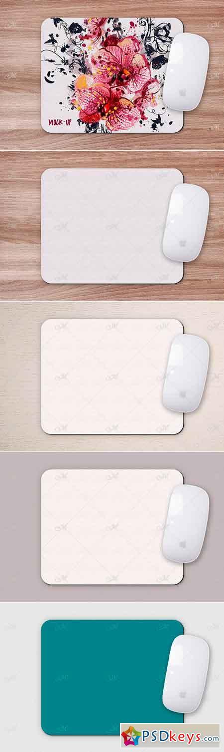 Mouse Pad Mock-up PSD Smart Object 3178840