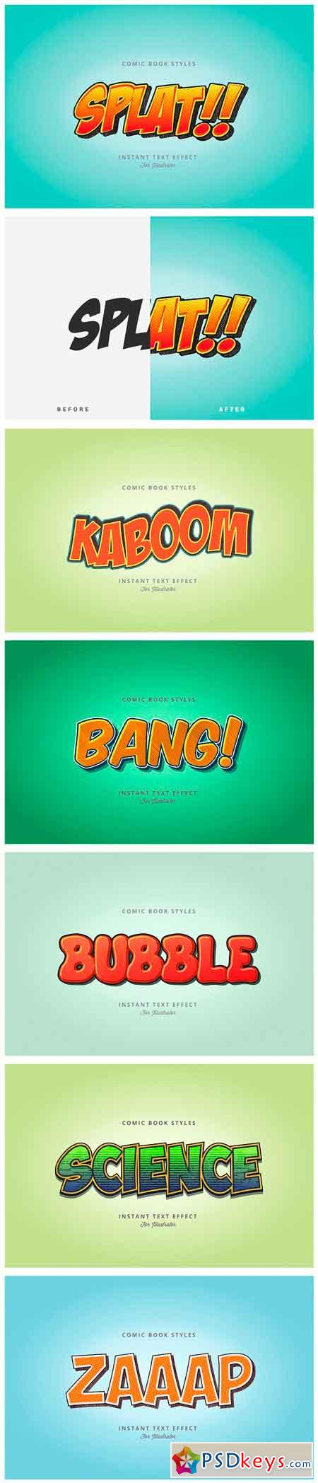 Comic and Cartoon Text Effects (AI) 2949559