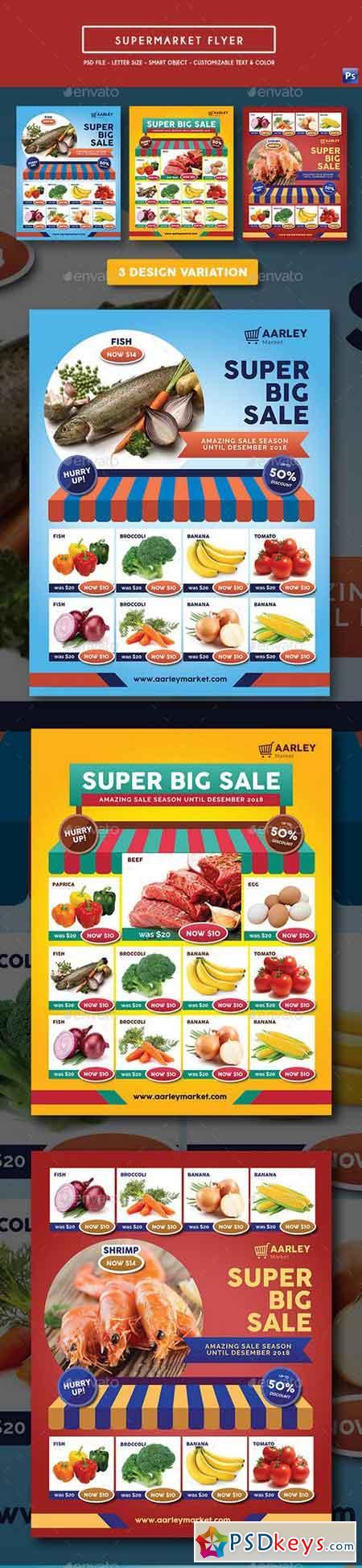 Supermarket Product Promotion Flyer 19621928