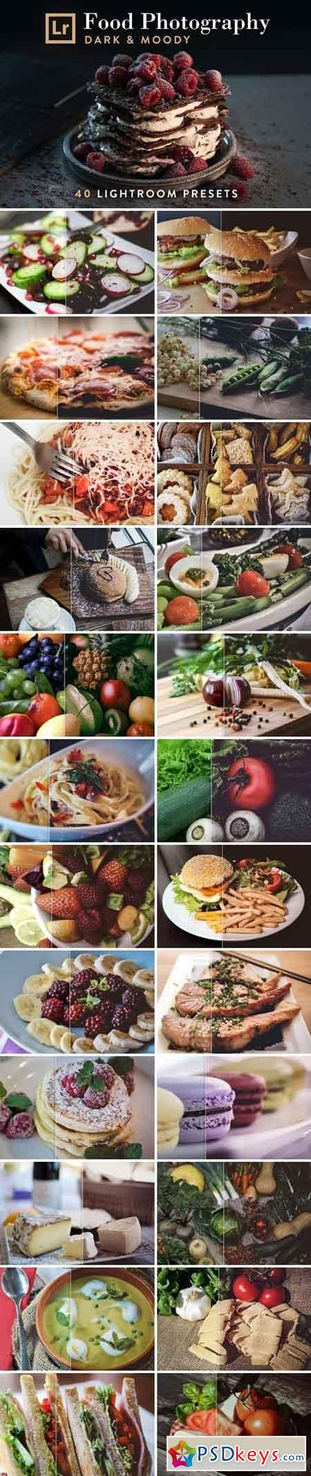 Lightroom Presets Moody Food Photos 2544461