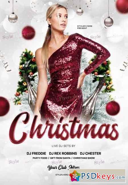 Christmas PSD Flyer Template