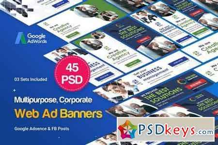 Multipurpose, Business, Startup Banners Ad 2