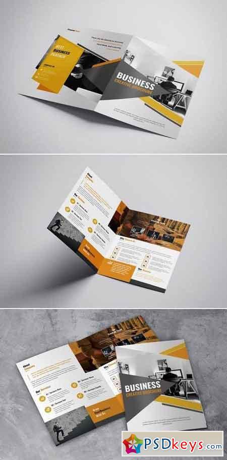 Business Creative - Bifold Brochure