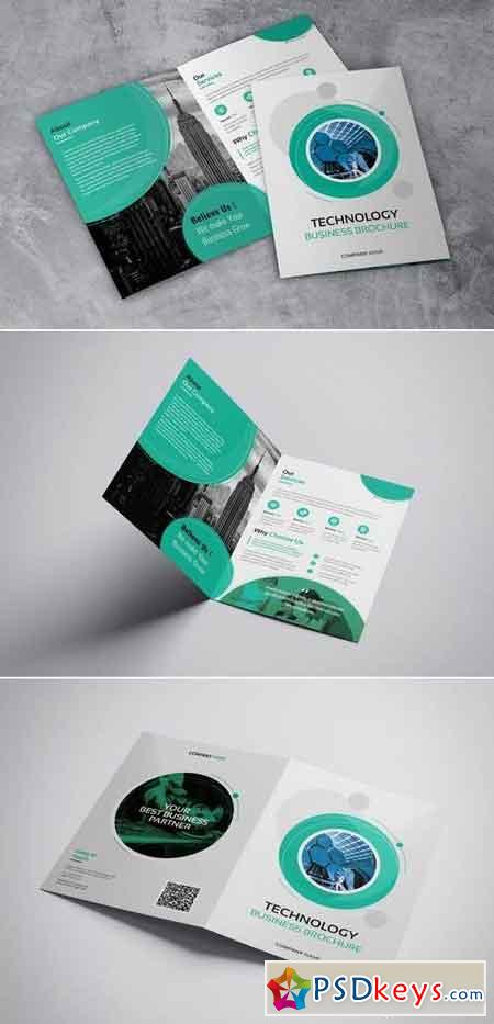 Technology Bussines - Bifold Brochures