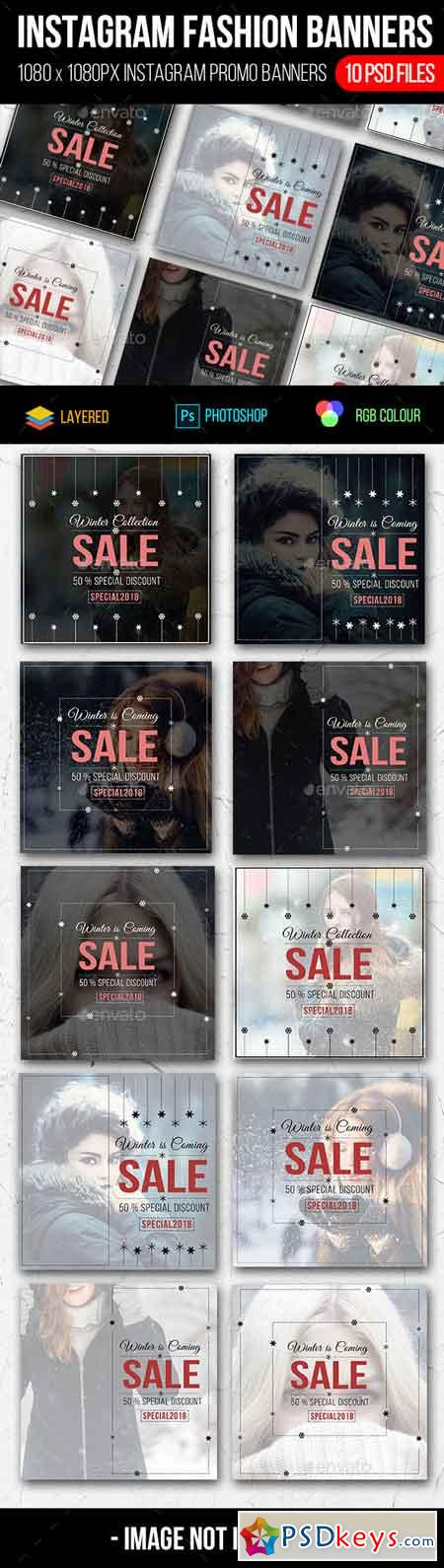 Instagram Fashion Sale Banners 22795262