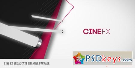 Cine FX Broadcast Channel Package 3025380 After Effects Template