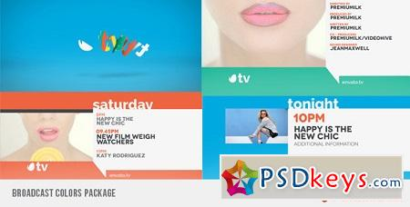 Broadcast Colors Package 6599343 After Effects Template