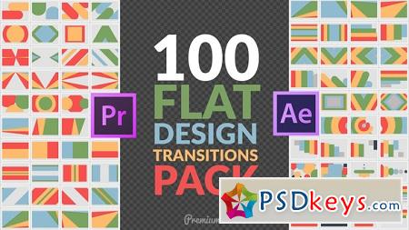Flat Design Transitions Pack Mogrt 22644859 After Effects Template