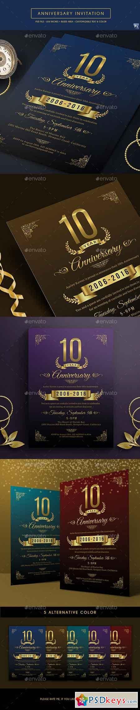 Anniversary Invitation 17546141