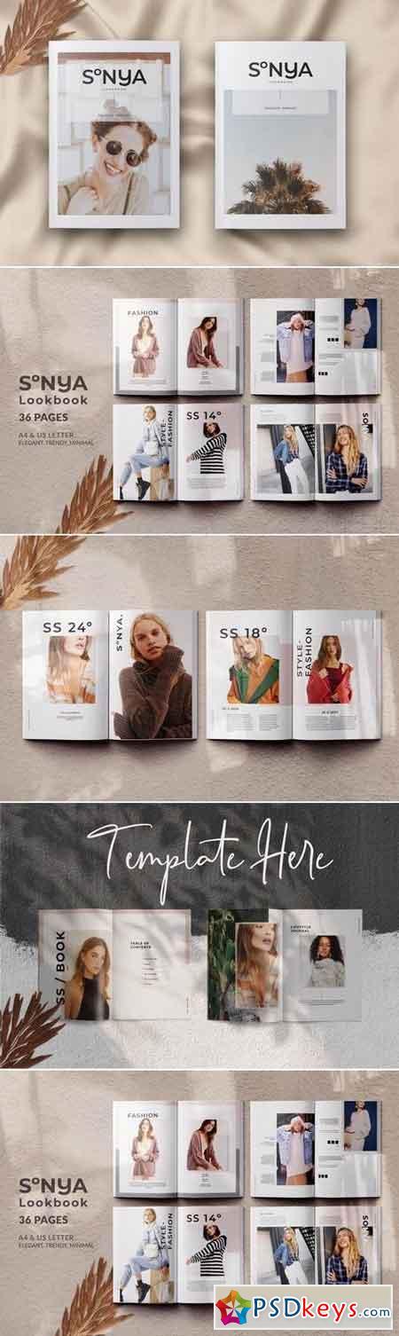 Sonya Lookbook Magazine