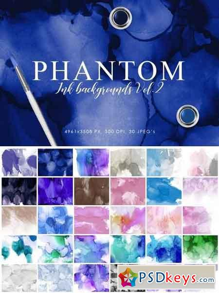 Phantom Ink Backgrounds Volume 2