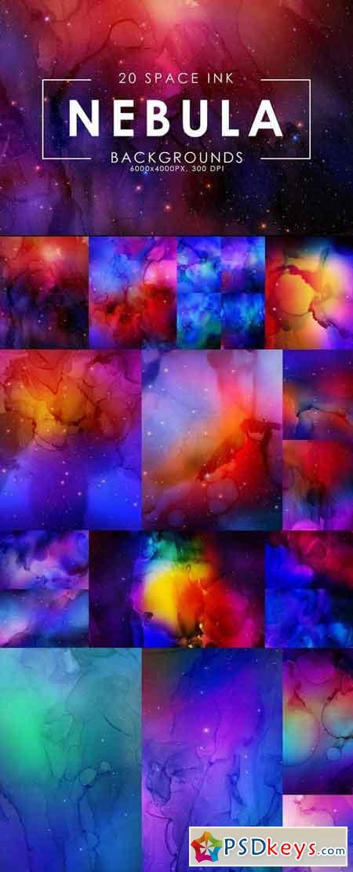 Nebula Ink Backgrounds 2931614
