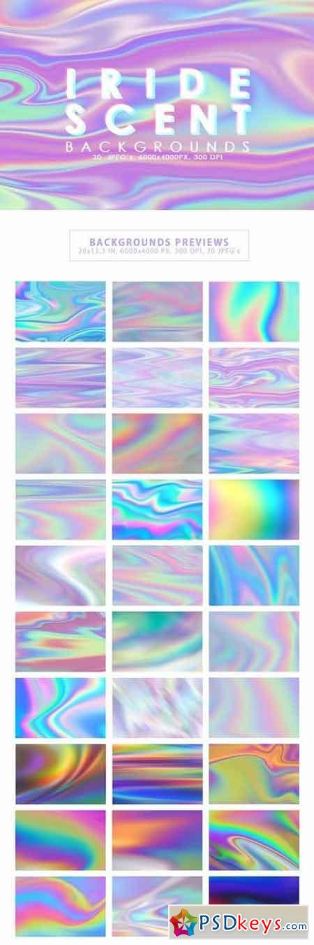 Iridescent Abstract Backgrounds 2921972