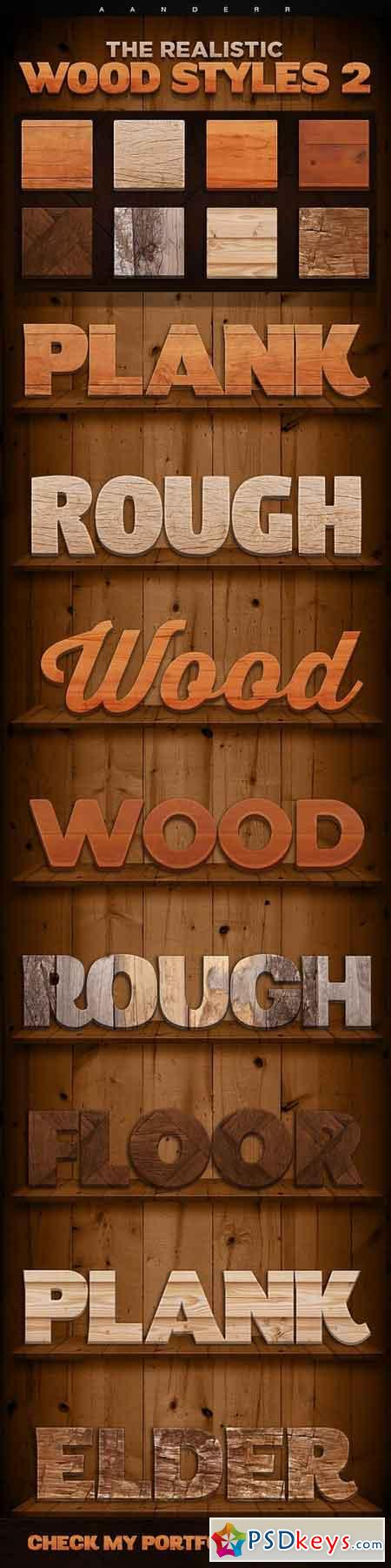 The Realistic Wood Styles 2 18006000