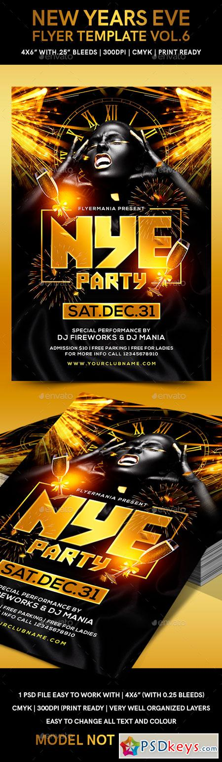 New Years Eve Flyer Template Vol6 22871047