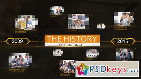 History Corporate 19336419 After Effects Template