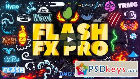 Flash FX Pro Animation Constructor 22676155 After Effects Template