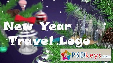 New Year Travel Logo 18749863 After Effects Template