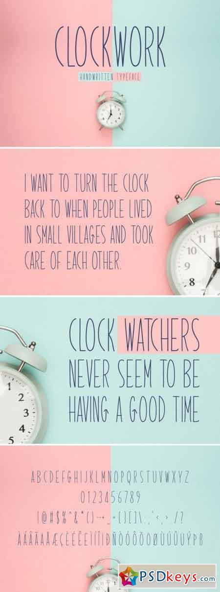 Clockwork 3114374