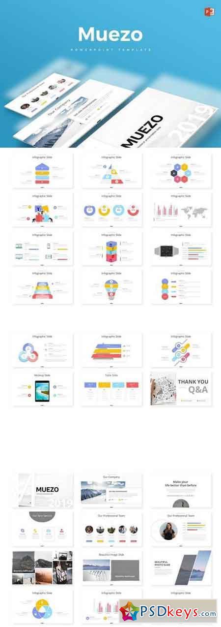 Muezo - Powerpoint, Keynote, Google Sliders Templates