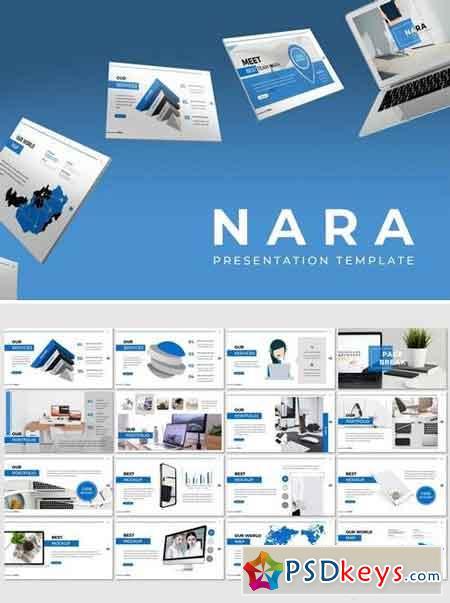 Nara - Powerpoint, Keynote, Google Sliders Templates