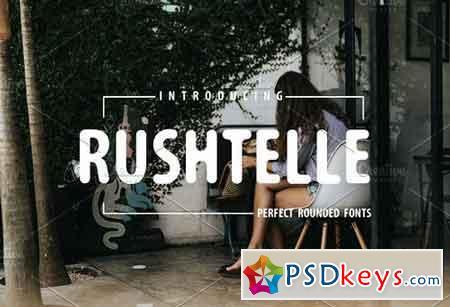 Rushtelle Font Perfect Rounded 3187386