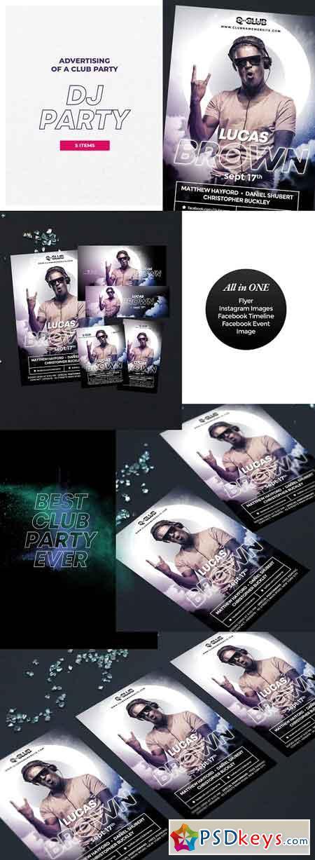 DJ Party Flyer 2880650
