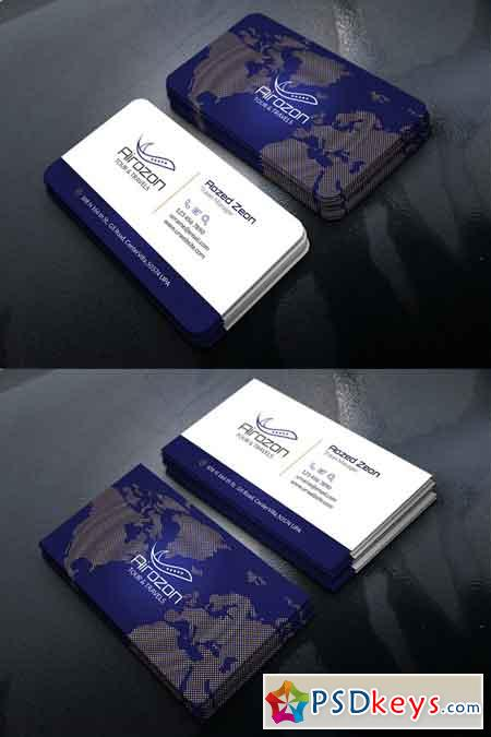 Travel Business Card 2880816