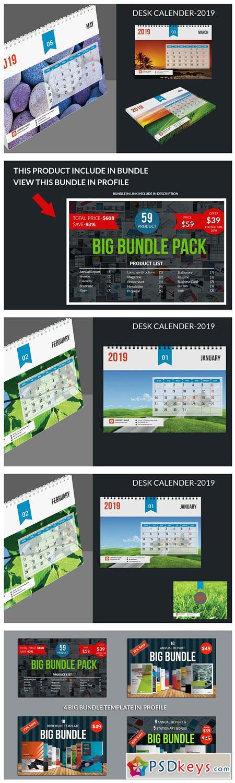 Desk Calendar-2019 3077228
