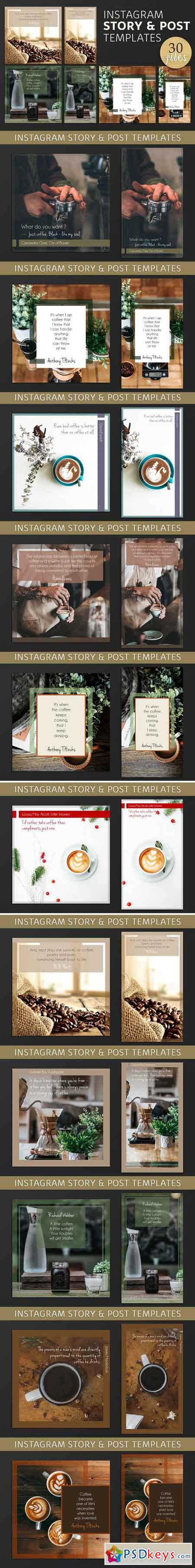 Instagram Post & Story Templates 2878743
