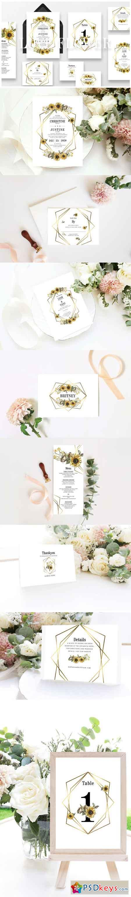 Love Flower Wedding Suite Ac 128 3188836