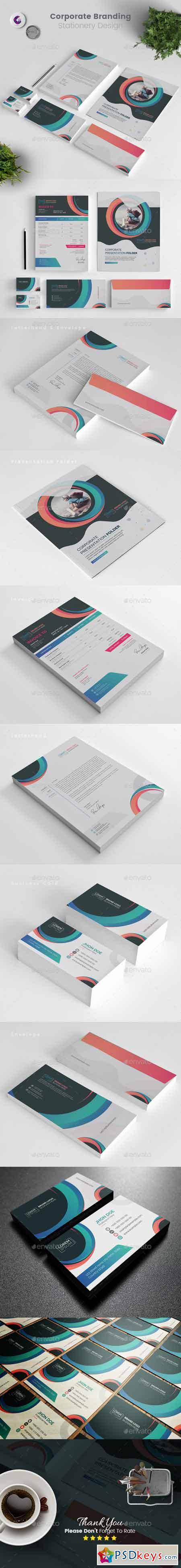 Branding Stationery Template 22803872