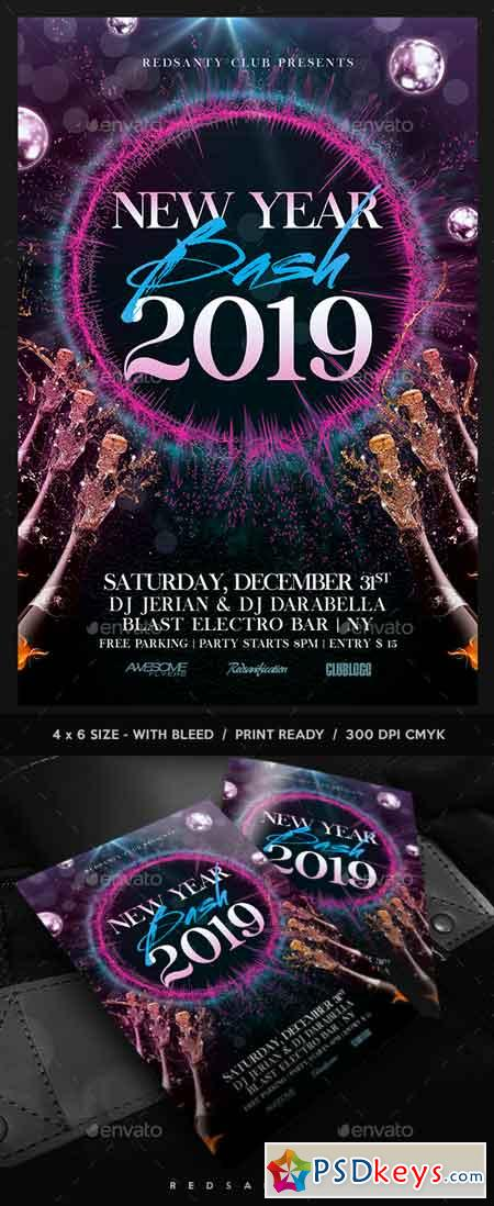 New Year Bash Flyer 22837212