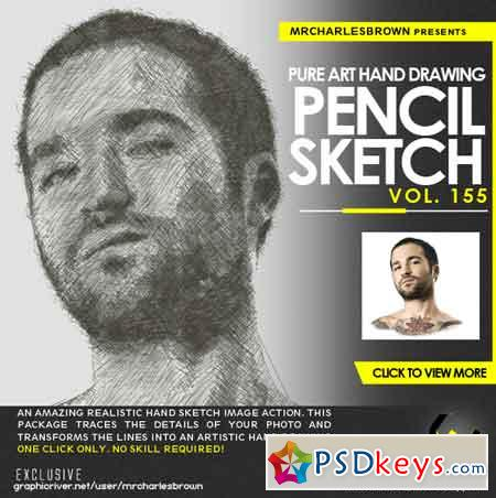 Pure Art Hand Drawing 155 – Pencil Sketch 22750848