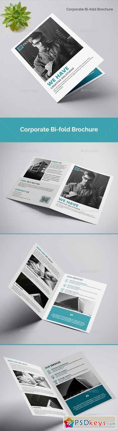 Corporate Bi-fold Brochure 22689054