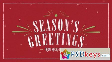 RocketStock - RS2019 - Carol - Winter Slideshow After Effects Template