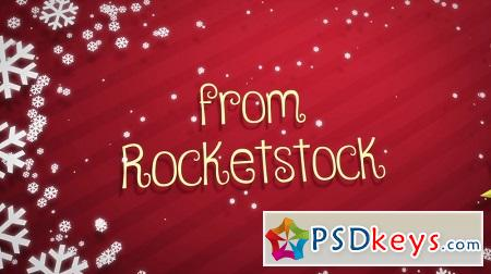 RocketStock - RS2020 - Festiva - Holiday Logo Reveal After Effects Template